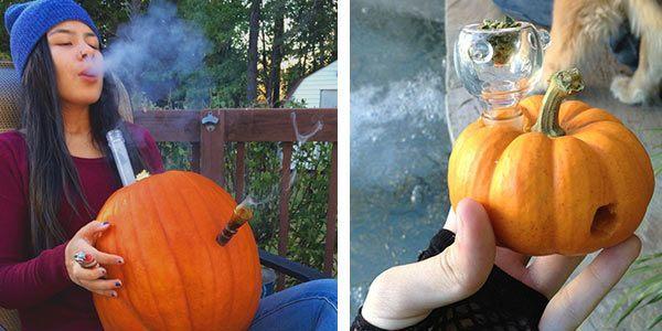Cómo hacer un bong de Calabaza para fumar Marihuana